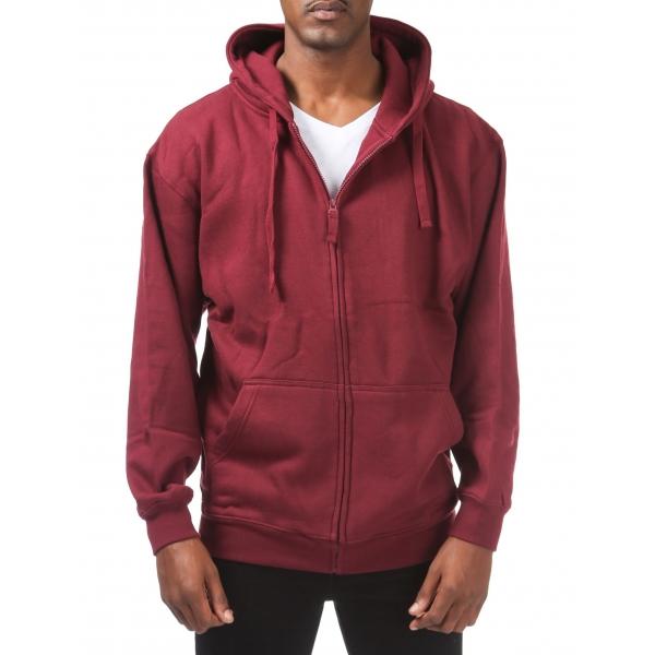 Pro Club Men's Comfort Full Zip Hood