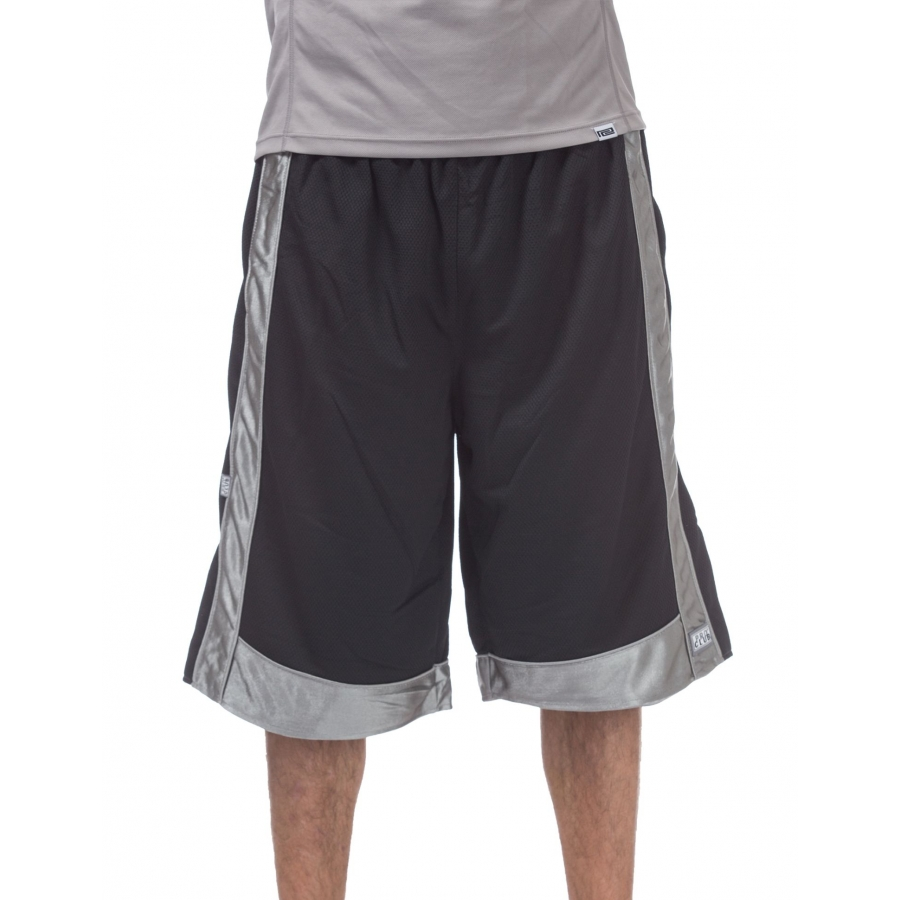 PRO CLUB MESH SHORT PANTS CHARCOAL GYM HEAVY WEIGHT BASKETBALL MENS JERSEY S-7XL